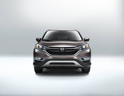 Honda CR-V Minorchange 2015 ใหม่เผยโฉมแล้ว อ็อพชั่นแน่นกว่าเดิม