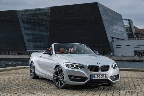 'BMW 2-Series Convertible' เตรียมเผยโฉมที่ปารีสมอเตอร์โชว์ 2014