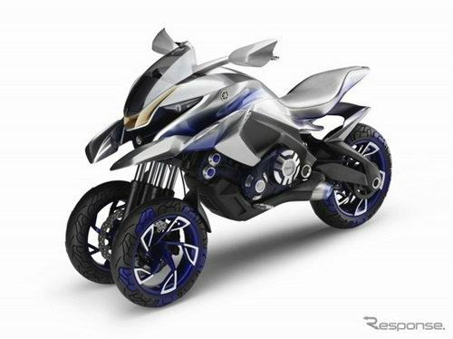 'Yamaha 01GEN' มอเตอร์ไซค์สามล้อรุ่นล่าสุด