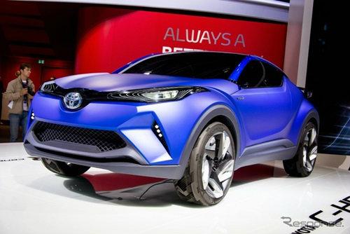 Toyota C-HR อวดโฉมคันจริงแล้วที่ปารีสมอเตอร์โชว์ 2014