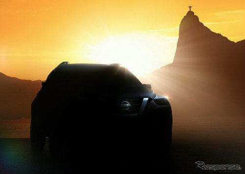 Nissan ปล่อยทีเซอร์คอนเซ็พท์เอสยูวีใหม่ เตรียมเปิดตัวที่บราซิล