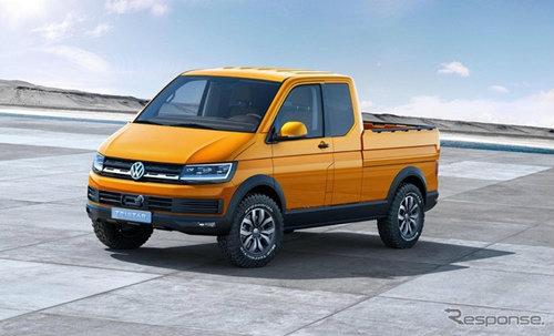 Volkswagen Tristar กระบะคอนเซ็พท์ดีไซน์ล้ำ