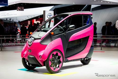 Toyota i-Road รถยนต์ส่วนตัวตอบสนองชีวิตคนเมือง