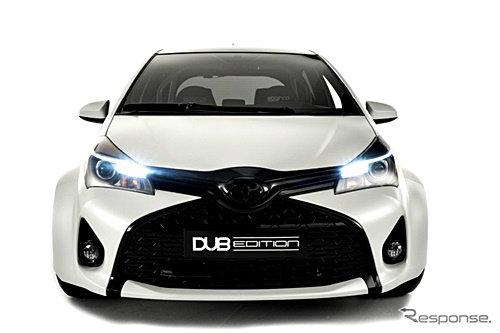 Toyota Yaris DUB Edition หล่อเต็มขั้น เปิดตัวที่งาน SEMA 2014