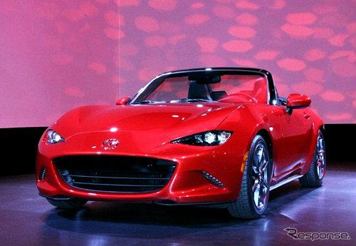 เปิดตัว Mazda MX-5 ใหม่พร้อมเครื่องยนต์ SKYACTIV-G ที่สหรัฐฯ