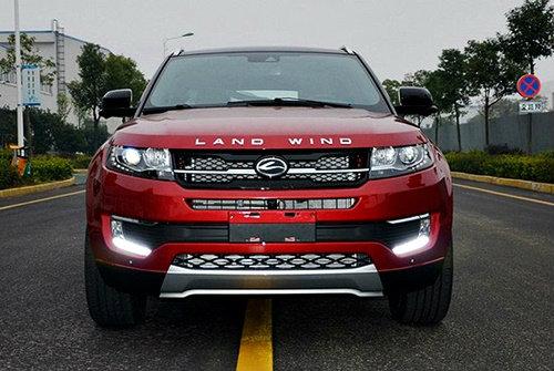 Land Rover ฉุนจัดถูกจีนก๊อปปี้ Evoque หน้าตาเฉย
