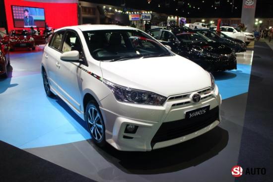 Toyota Yaris TRD Sportivo เปิดตัวใหม่ล่าสุดที่งาน Motor Expo 2014 เคาะ 6.29 แสนบาท
