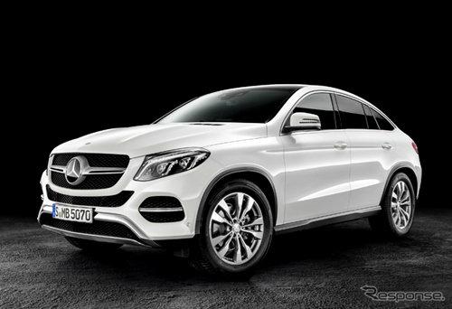 Mercedes-Benz GLE Coupe เผยโฉมแล้ว เตรียมเปิดตัวในสหรัฐฯเป็นที่แรก