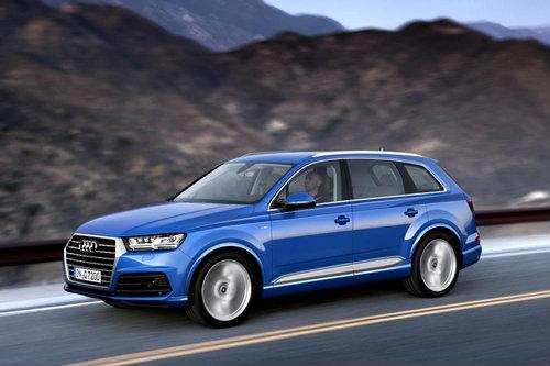 Audi Q7 เจเนอเรชั่นใหม่เผยโฉมแล้ว หล่อเหลาขึ้นกว่าเดิม