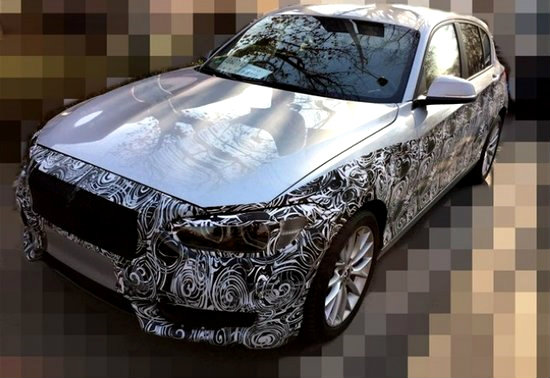 หลุด! 'BMW 1-Series' ไมเนอร์เชนจ์ใหม่ถูกพรางตัวขณะวิ่งทดสอบ