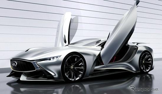 Infiniti Concept Vision Gran Turismo คอนเซ็พท์สุดจิ๊ดจากค่ายนิสสัน