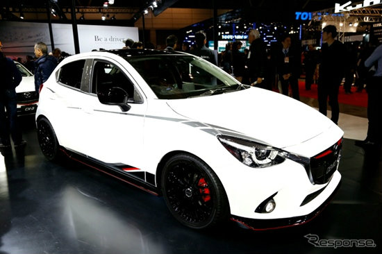 Mazda 2 Racing Concept สวยเกินบรรยาย