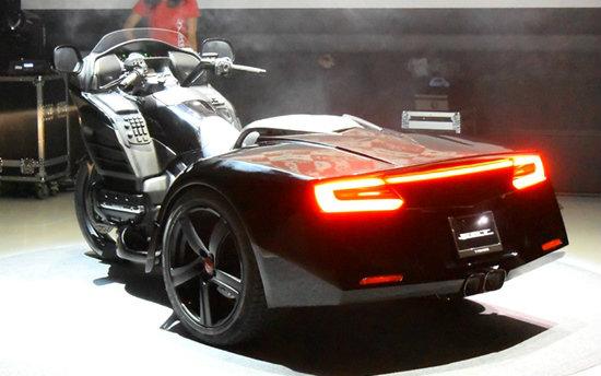 Trike F6T บิ๊กไบค์สามล้อท้าย Honda NSX