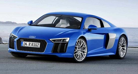 Audi R8 2016 เจเนอเรชั่นใหม่เผยโฉมแล้ว เตรียมเปิดตัวเดือนมี.ค.นี้
