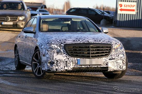 หลุด Mercedes-Benz E-Class เจเนอเรชั่นใหม่ล่าสุดขณะวิ่งทดสอบ