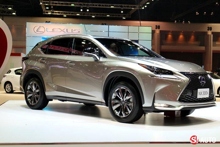 รถค่าย Lexus - Motor Show 2015