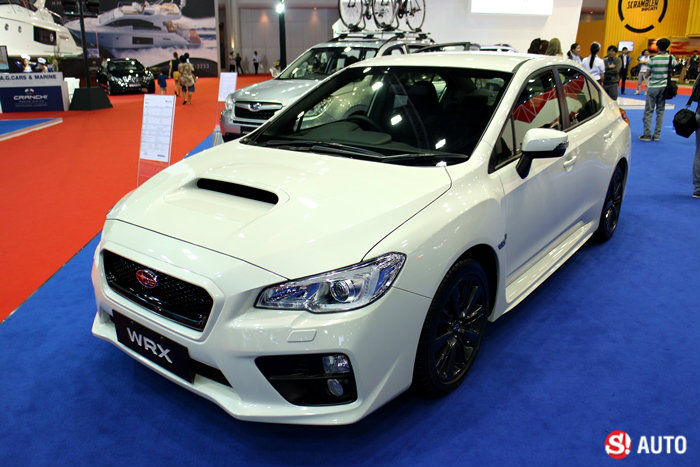 รถค่าย Subaru - Motor Show 2015