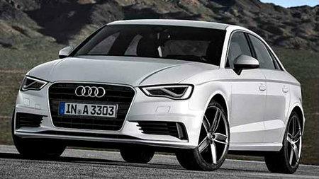 ราคารถใหม่ Audi ในตลาดรถยนต์ประจำเดือนเมษายน 2558