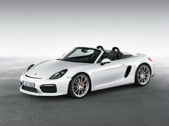 Porsche Boxster Spyder ใหม่ เปิดตัวที่งานนิวยอร์คมอเตอร์โชว์ 2015
