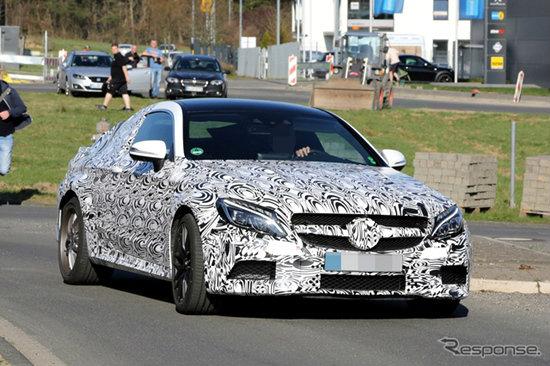 หลุด Mercedes-Benz C63 AMG Coupe เตรียมเปิดตัวปี 2016 นี้