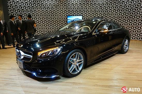 Mercedes-Benz S-Class Coupe ใหม่ เปิดตัวอย่างเป็นทางการแล้วในไทย