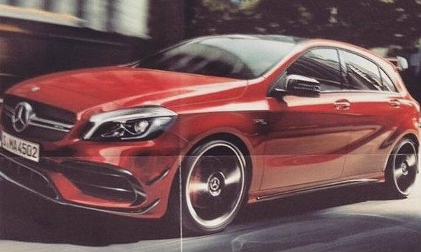 Mercedes-Benz A45 AMG ไมเนอร์เชนจ์ใหม่พกขุมพลัง 400 แรงม้า!