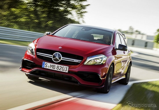 Mercedes-AMG A45 4MATIC ใหม่ เพิ่มขุมพลังเป็น 381 แรงม้า