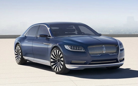 Lincoln Continental ใหม่ เตรียมลงตลาดสหรัฐฯในปี 2016 นี้