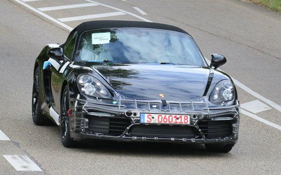 หลุด Porsche Boxster 2016 ใหม่ก่อนเปิดตัวอย่างเป็นทางการ