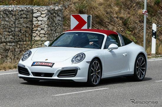 หลุด Porsche 911 Targa 2016 ใหม่ ก่อนเปิดตัวอย่างเป็นทางการ