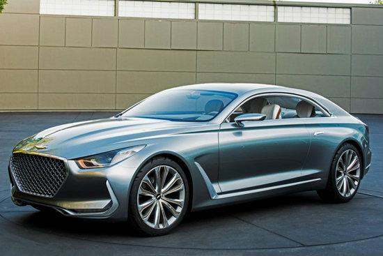 Hyundai Vision G Concept Coupe สปอร์ตคูเป้คันงามเผยโฉมในสหรัฐฯ