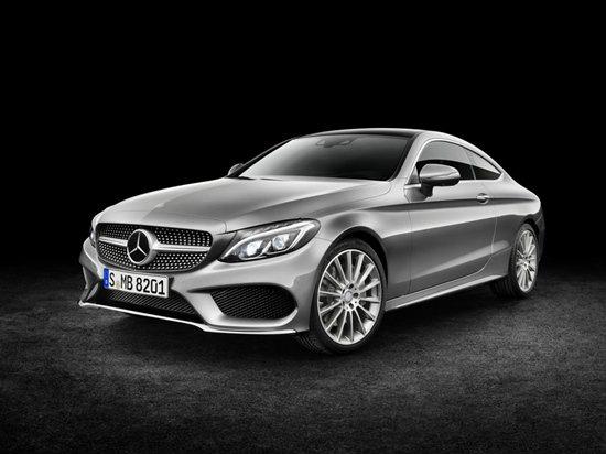 Mercedes-Benz C-Class Coupe 2016 ใหม่ เผยโฉมแล้วอย่างเป็นทางการ