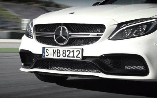 Mercedes-AMG C63 S Coupe เผยทีเซอร์ใหม่ก่อนเปิดตัวอย่างเป็นทางการ
