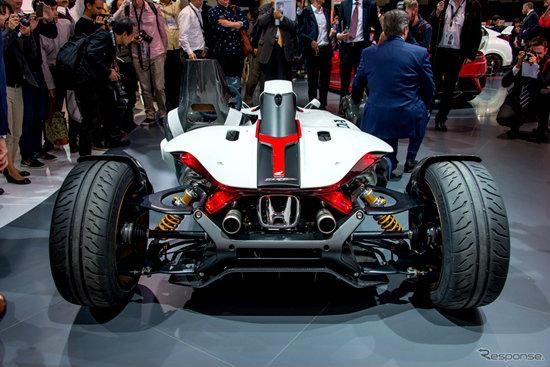 Honda Project 2&4 Concept เผยโฉมจริงแล้วที่ Frankfurt Motor Show 2015