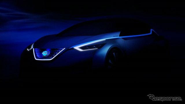 Nissan เผยทีเซอร์รถต้นแบบใหม่ล่าสุดที่งานโตเกียวมอเตอร์โชว์ 2015