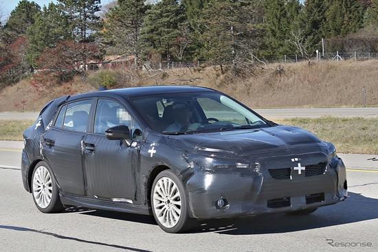หลุด Subaru Impreza เจเนอเรชั่นใหม่ออกวิ่งทดสอบจริงแล้ว
