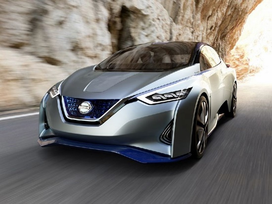 Nissan IDS รถไฟฟ้าขับได้เอง