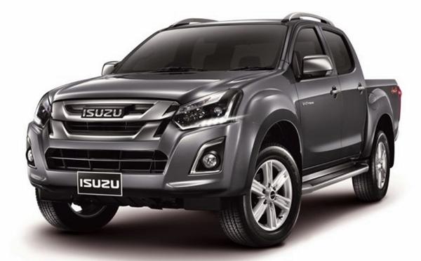 ราคารถใหม่ Isuzu ในตลาดรถประจำเดือนธันวาคม 2558