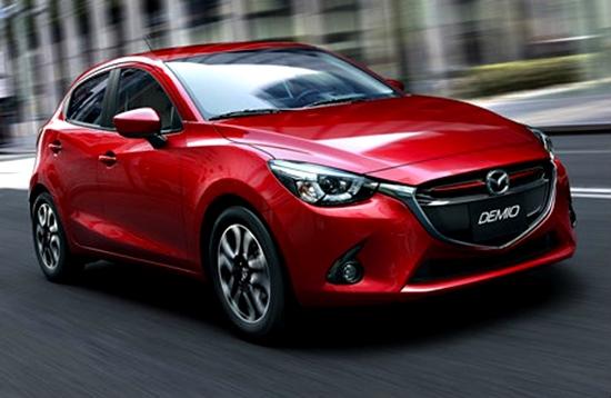 ราคารถใหม่ Mazda ในตลาดรถยนต์เดือนธันวาคม 2558