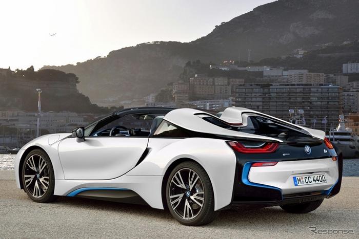 หลุด BMW i8 เวอร์ชั่นเปิดหลังคารุ่นจำหน่ายจริงก่อนเปิดตัวปี 2017