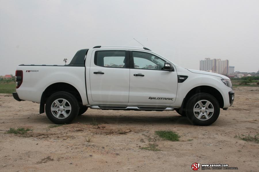 Sanook! Drive : New! Ford Ranger WildTrak Hi-Rider 2.2