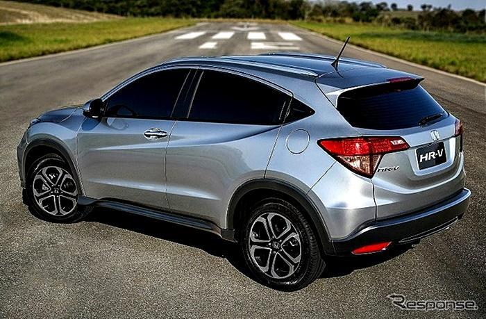 ตัวจริงสดๆๆ Honda HR-V สีบรอนซ์เงิน เอามายั่วน้ำลายก่อนไปสยามพารากอน