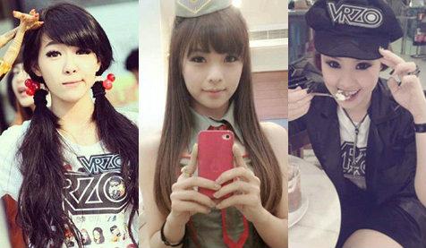 4 สาว แสนสวย แห่งรายการ vrzo