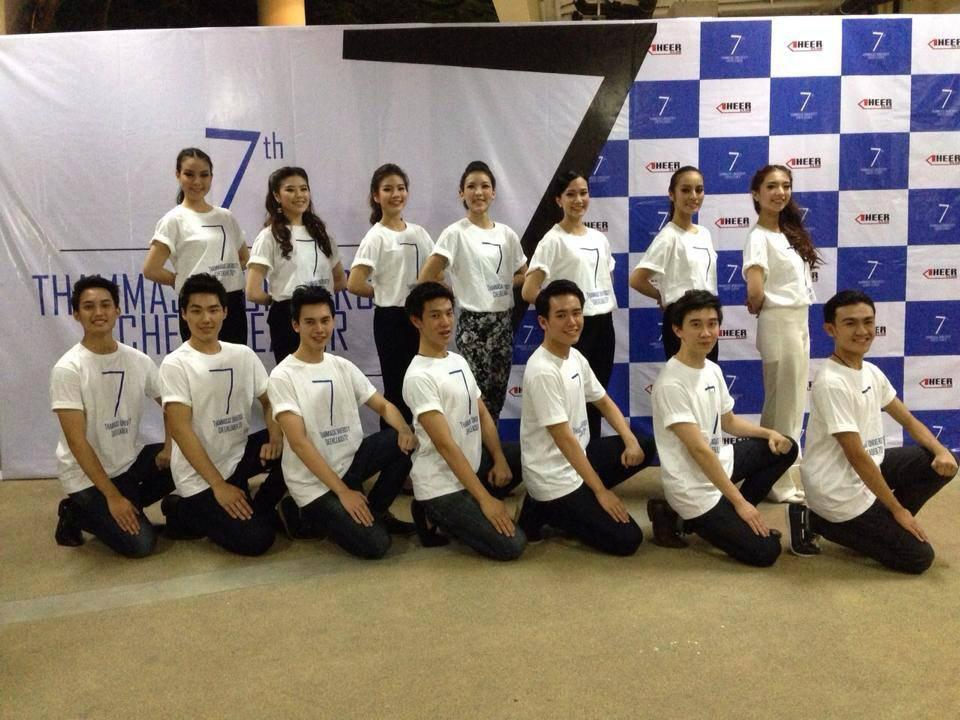 TU Cheerleader งานฟุตบอลประเพณี ครั้งที่ 70