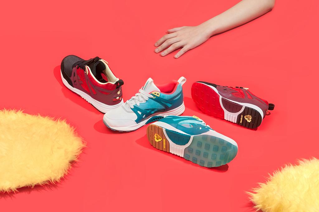 รองเท้าผ้าใบยี่ห้อ Reebok