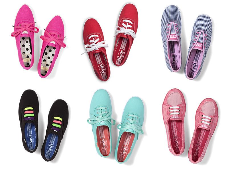 รองเท้าผ้าใบยี่ห้อ Keds
