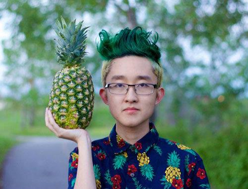แพ้พนัน (เรียน) เลยต้องไว้ผมทรง ′สับปะรด′ !