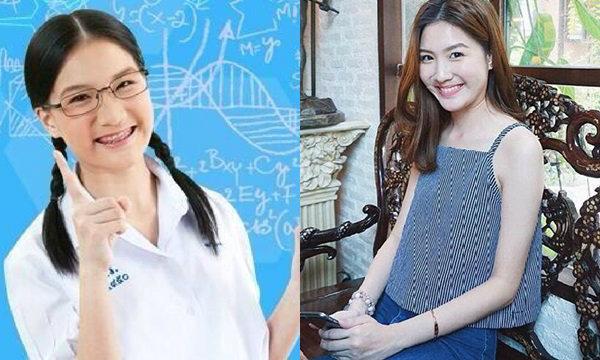 """อดีตสาวแว่นอยากเป็นหมอในเปปทีน """"น้องแบม สาธกา"""" กับภาพล่าสุดสวยใสน่ารักมาก!!"""