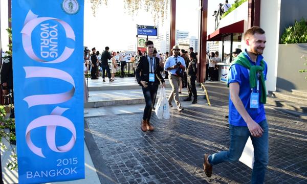 พิธีเปิดงาน One Young World 2015 เริ่มขึ้นแล้วอย่างยิ่งใหญ่อลังการ