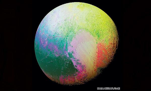 นาซาเผยภาพ สีสันใหม่ ของ ′พลูโต′